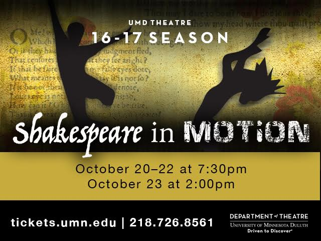 Photo by UMD Theatre Department
