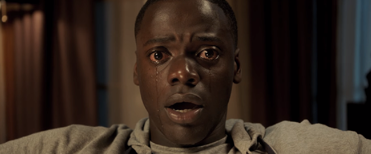 """Chris's (David Kaluuya) eyes alone are enough to sell the horror in """"Get Out""""."""