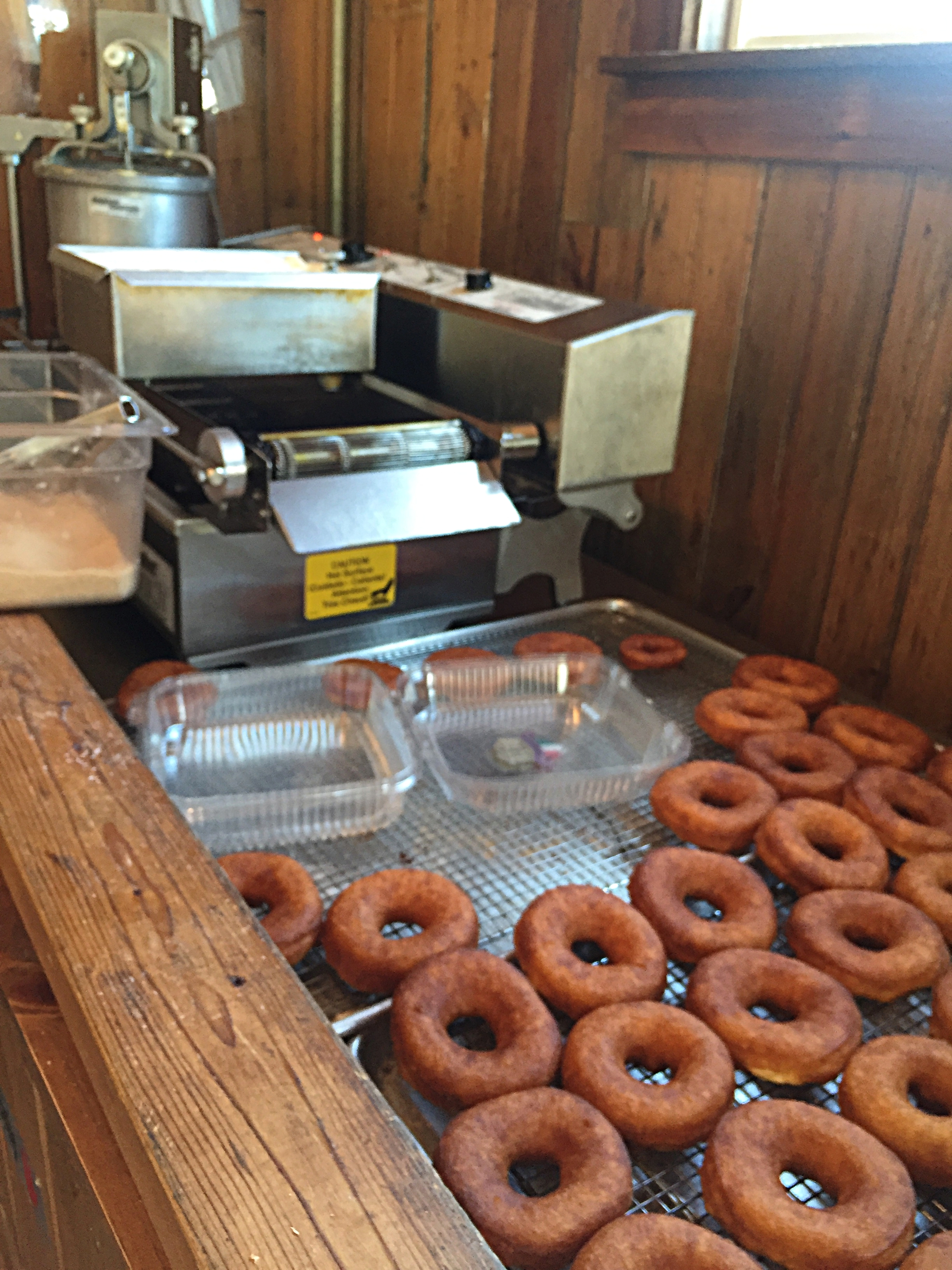 Farm Fresh Doughnuts at Breeze Hill Farm
