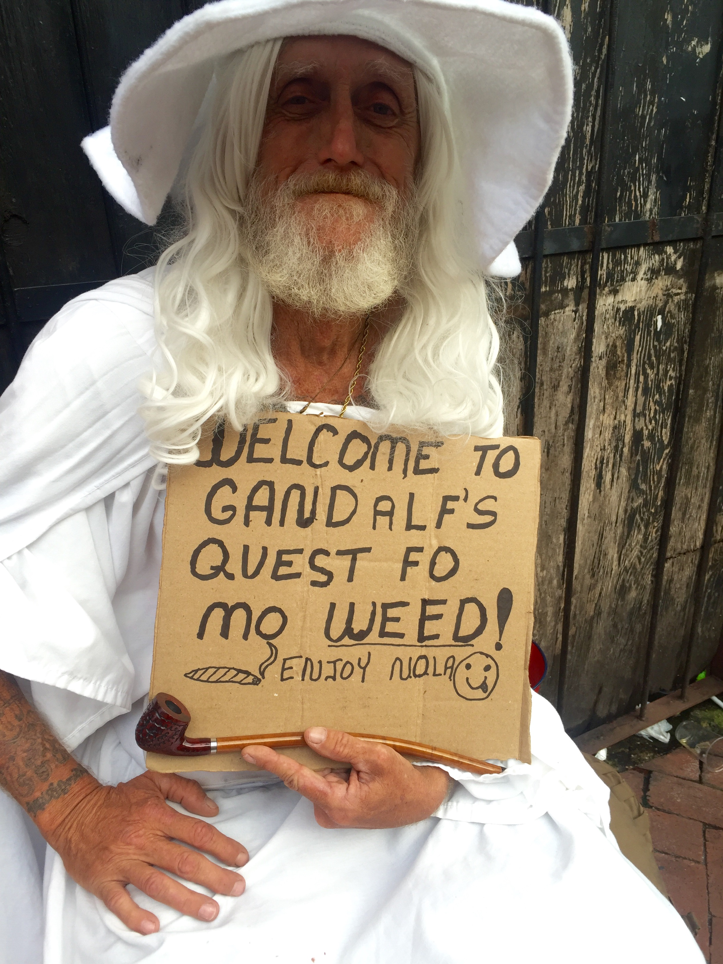 I mean, Everybody needs a quest. Gandalf is one of the many characters on Bourbon.