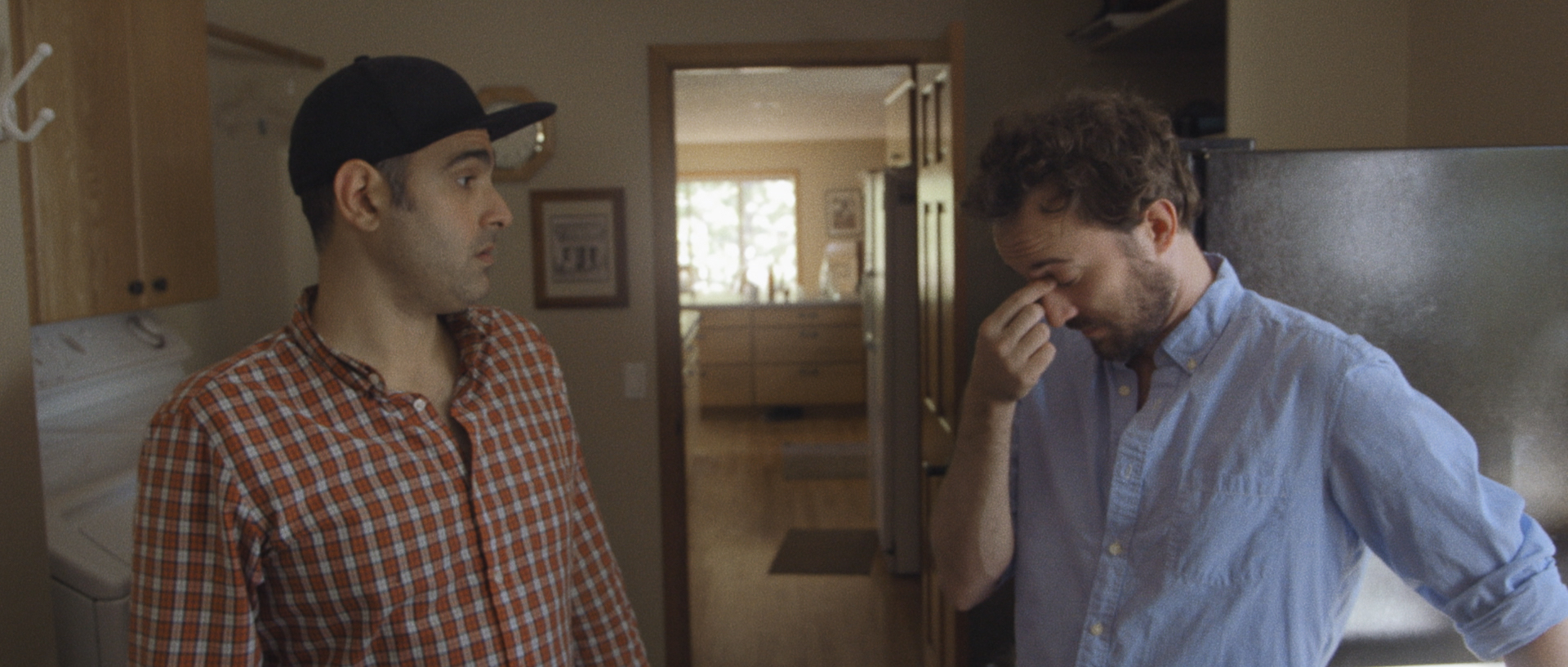 L to R: Robert D'Esposito as Anthony and Jon Titterington as Tim. Image courtesy of Hunter Way Pictures.