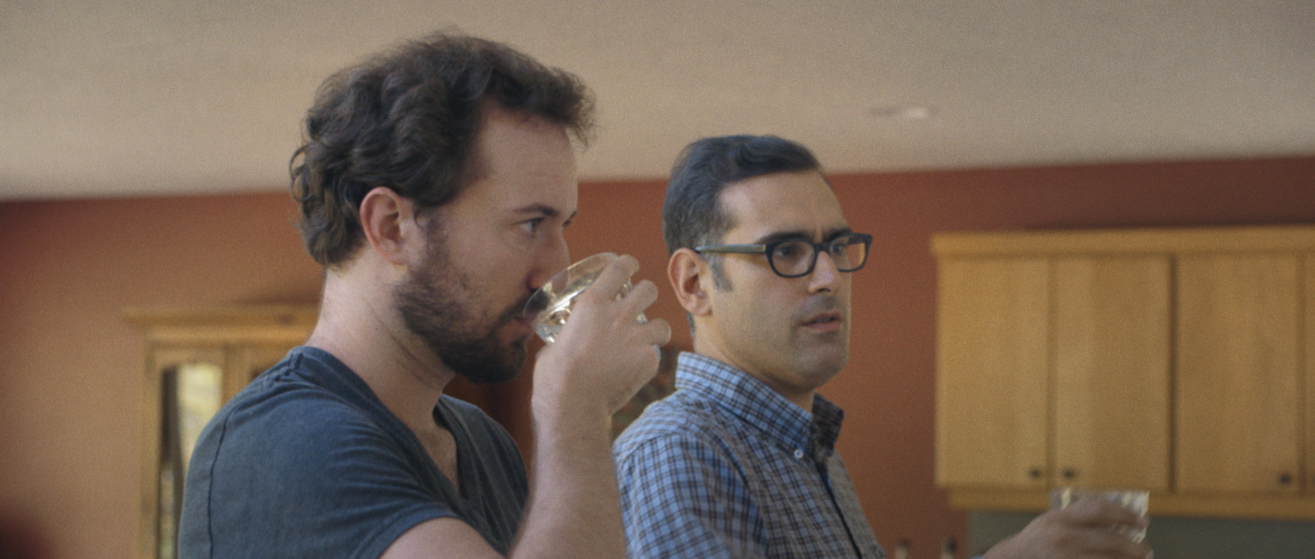 L to R: Jon Titterington as Tim and Robert D'Esposito as Anthony.Image courtesy of Hunter Way Pictures.
