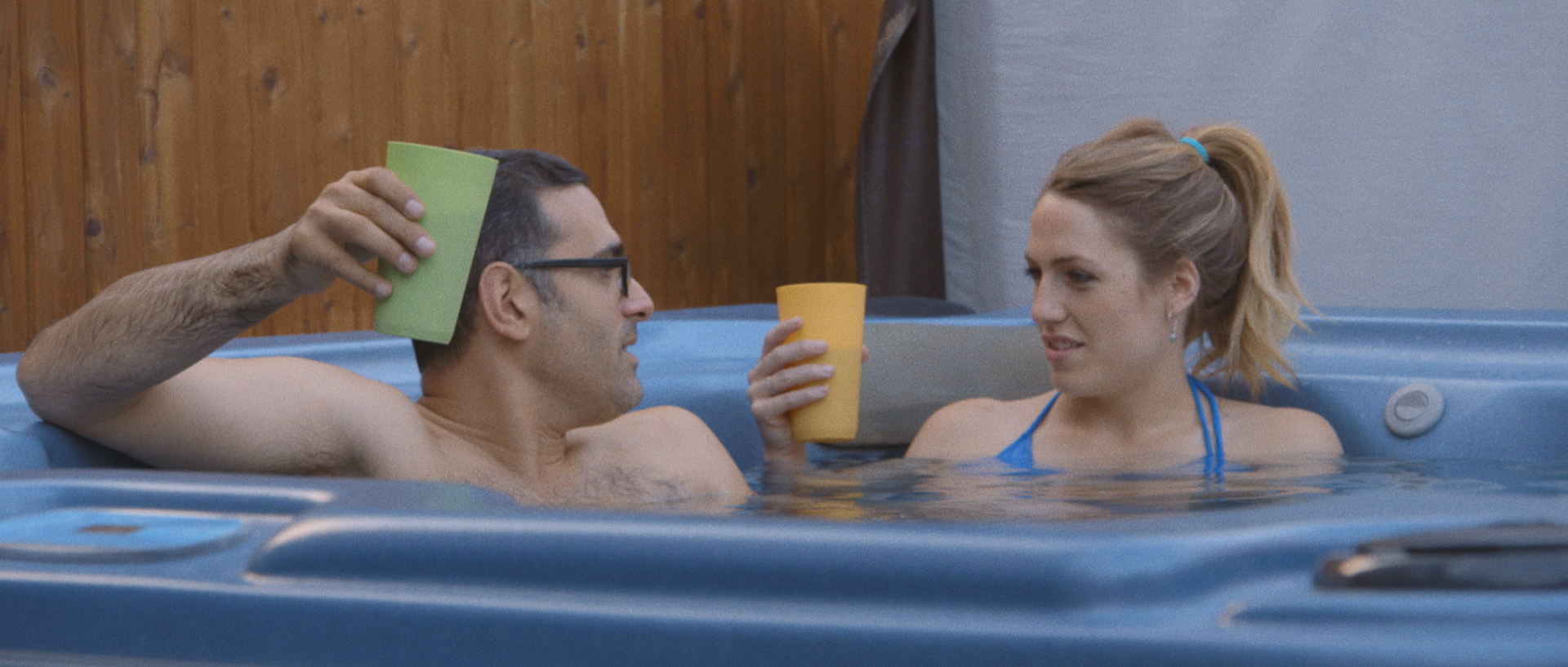 L to R: Robert D'Esposito as Anthony and Katie Michels as Sam. Image courtesy of Hunter Way Pictures.