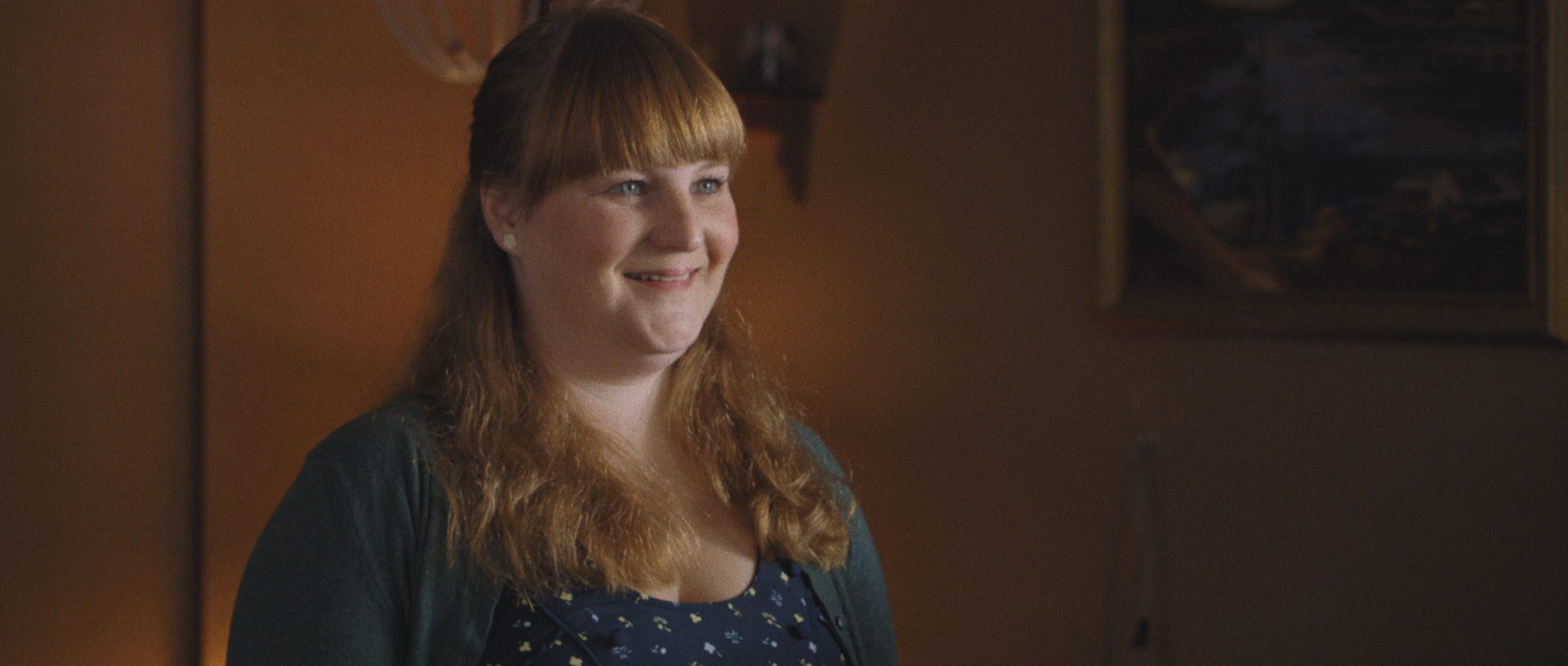 Amy Miller as the Motel Clerk. Image courtesy of Hunter Way Pictures.