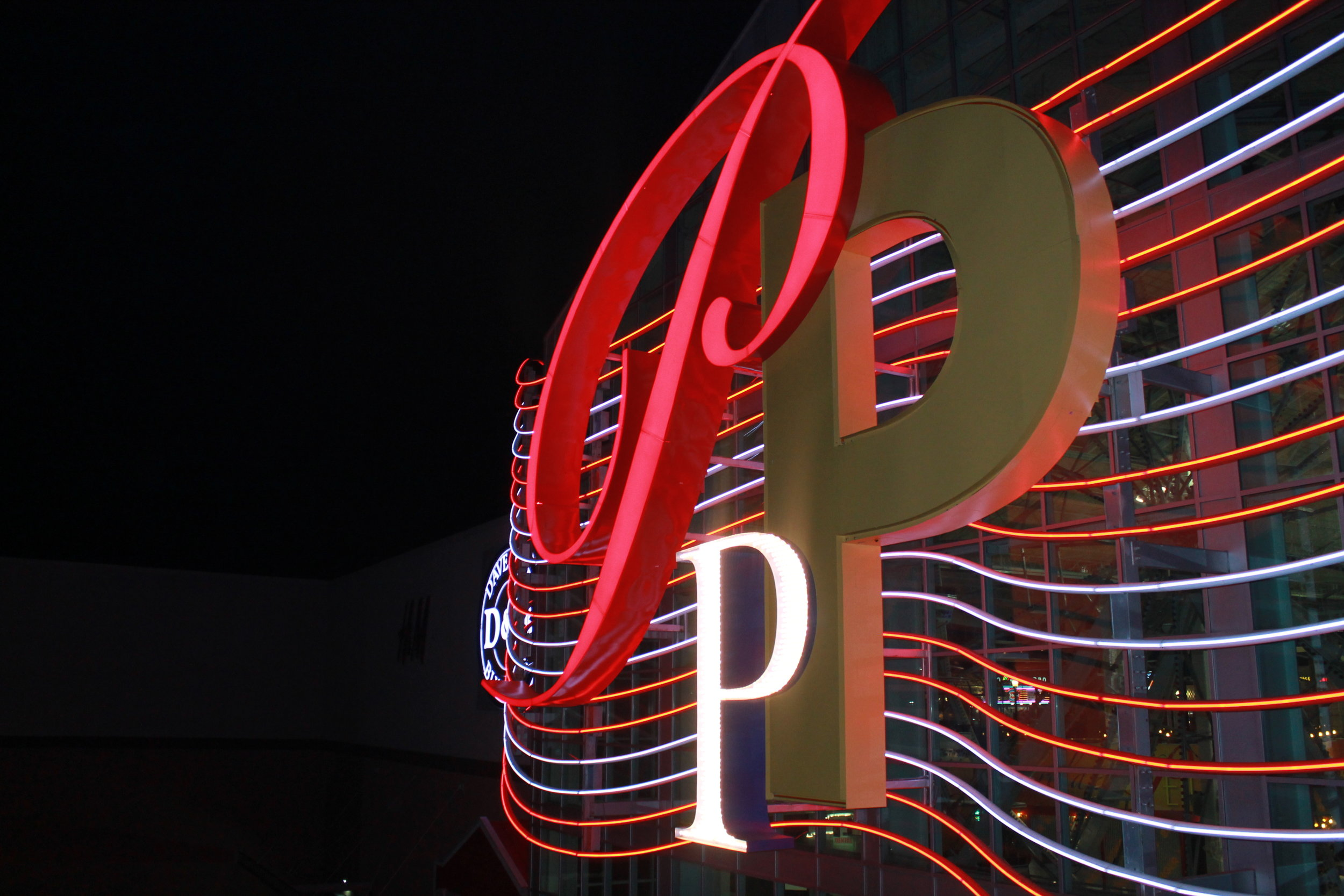 Sign for the Palisades Mall