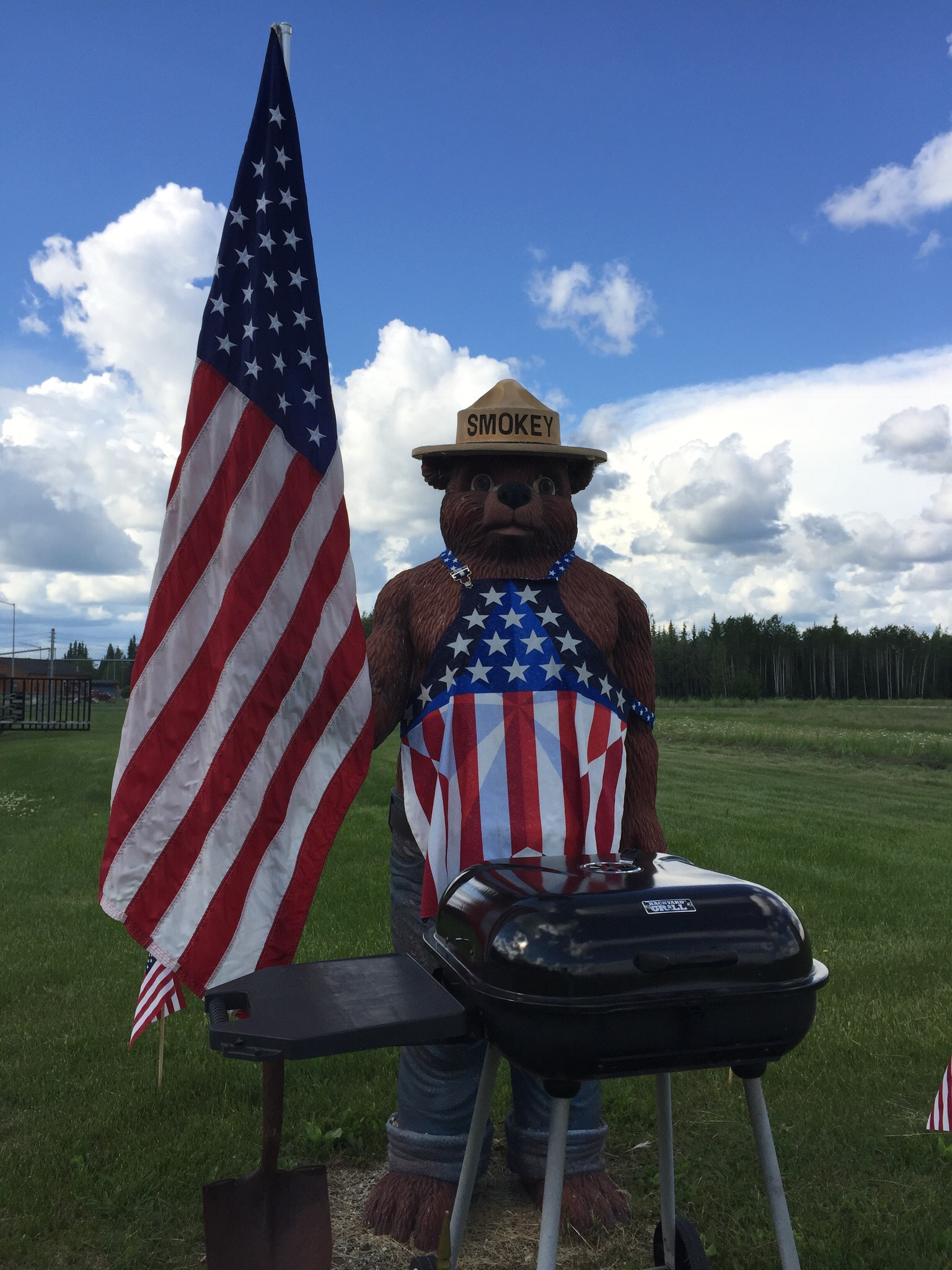 """""""Remember... Only YOU Can Prevent Forest Fires!"""" - Smokey Bear"""