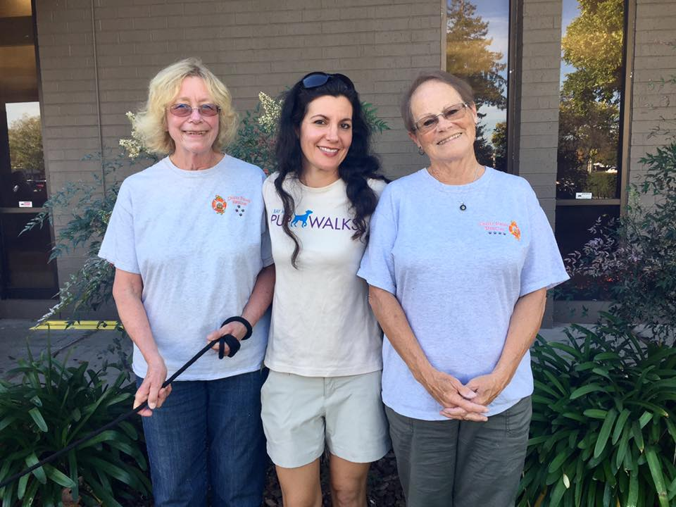 Robin meets Diane and the Dusty paws team