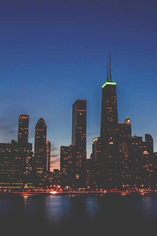 gentscartel :      Chicago Skyline  //  GC