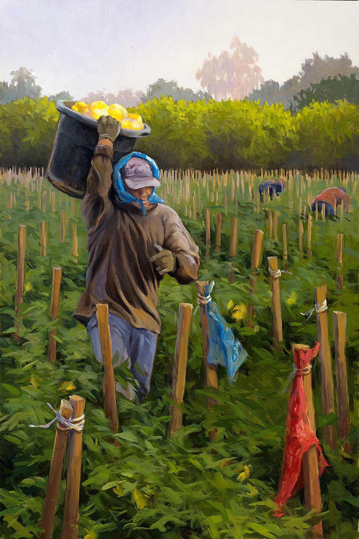 """Man in a Blue Bandana"" by Gail Pidduck"
