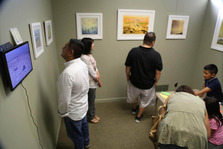 Salton Sea Exhibit by Janet Milhomme