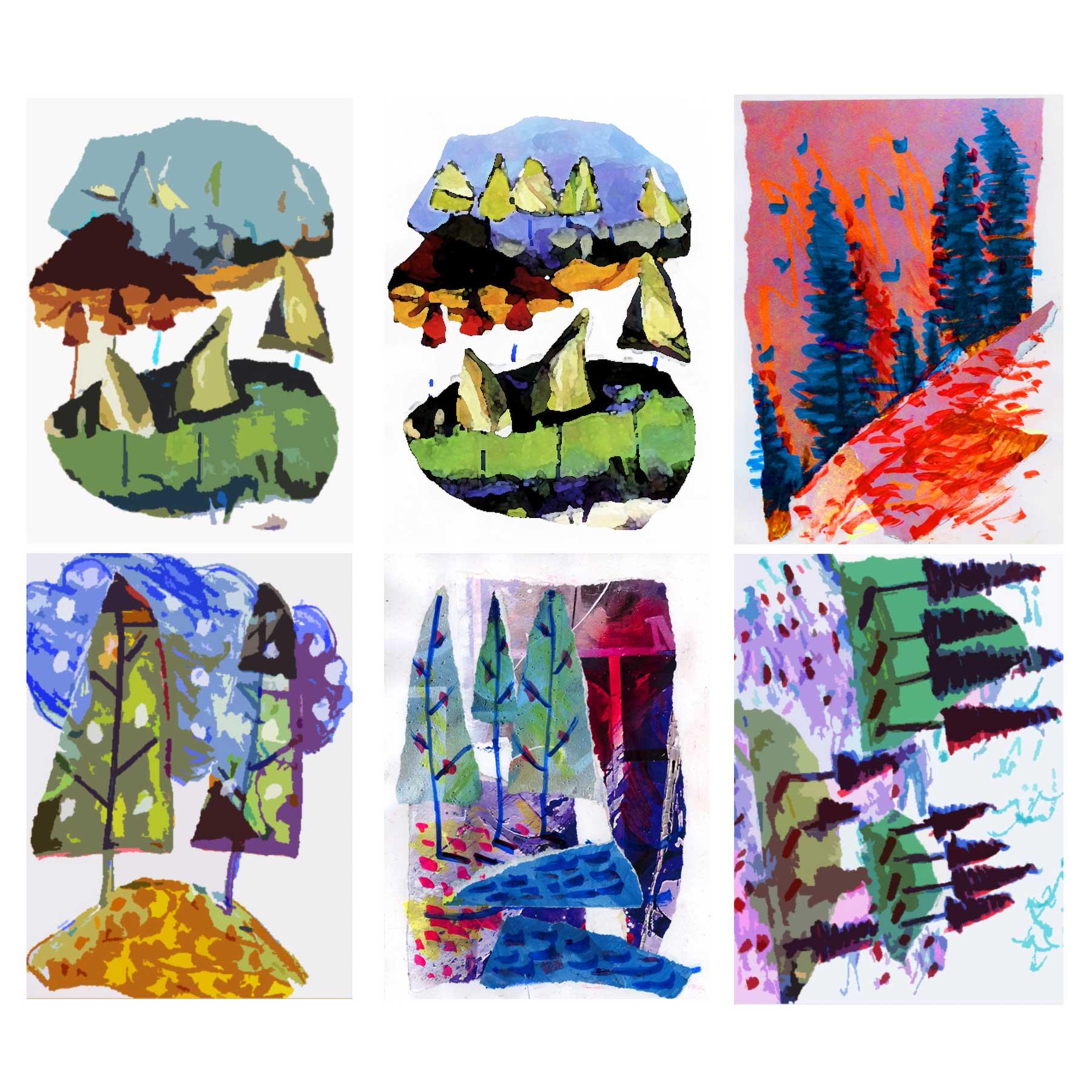 Eul Hurley Art Cards