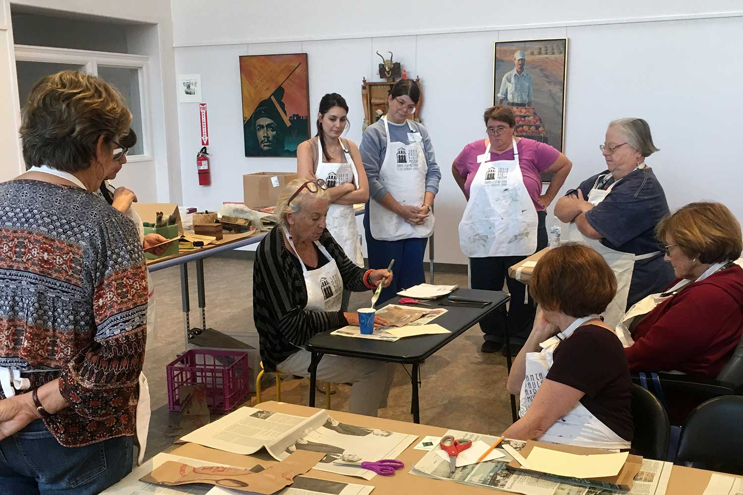Bookmaking class with Gail Hercher