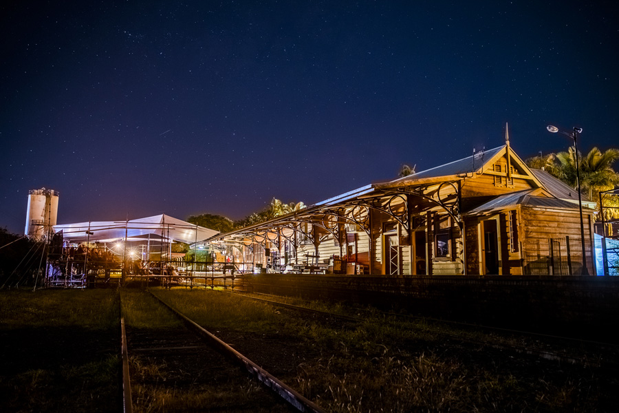 project: railway wonderland | site-SPECIFIC theatre live on lismore train station | company norpa | role: producer