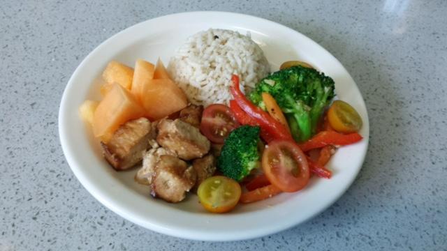 Menu - monthly lunch & snack menu
