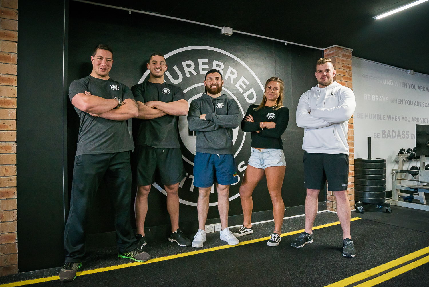 The team at Purebred Fitness