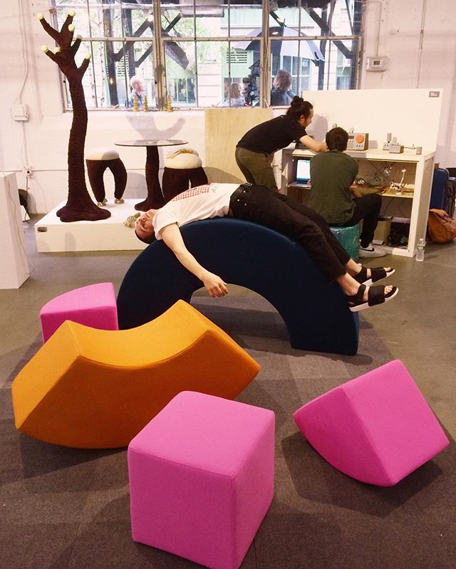 Check these out at @wanteddesign Brooklyn from Thursday to Monday, 11-6! . . . . . . . #wanteddesign #wanteddesignnyc #wanteddesignbrooklyn #furniture #furnituredesign #furnituredesigner #muebles #memphisgroup #ettoresottsass #productdesign #industrialdesign #diseño