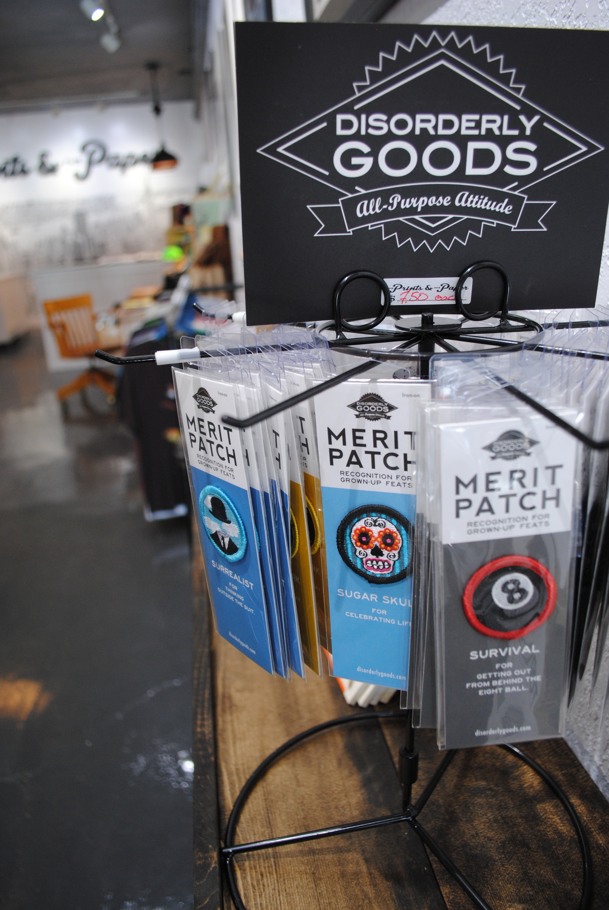Prints and the Paper Merit Badges
