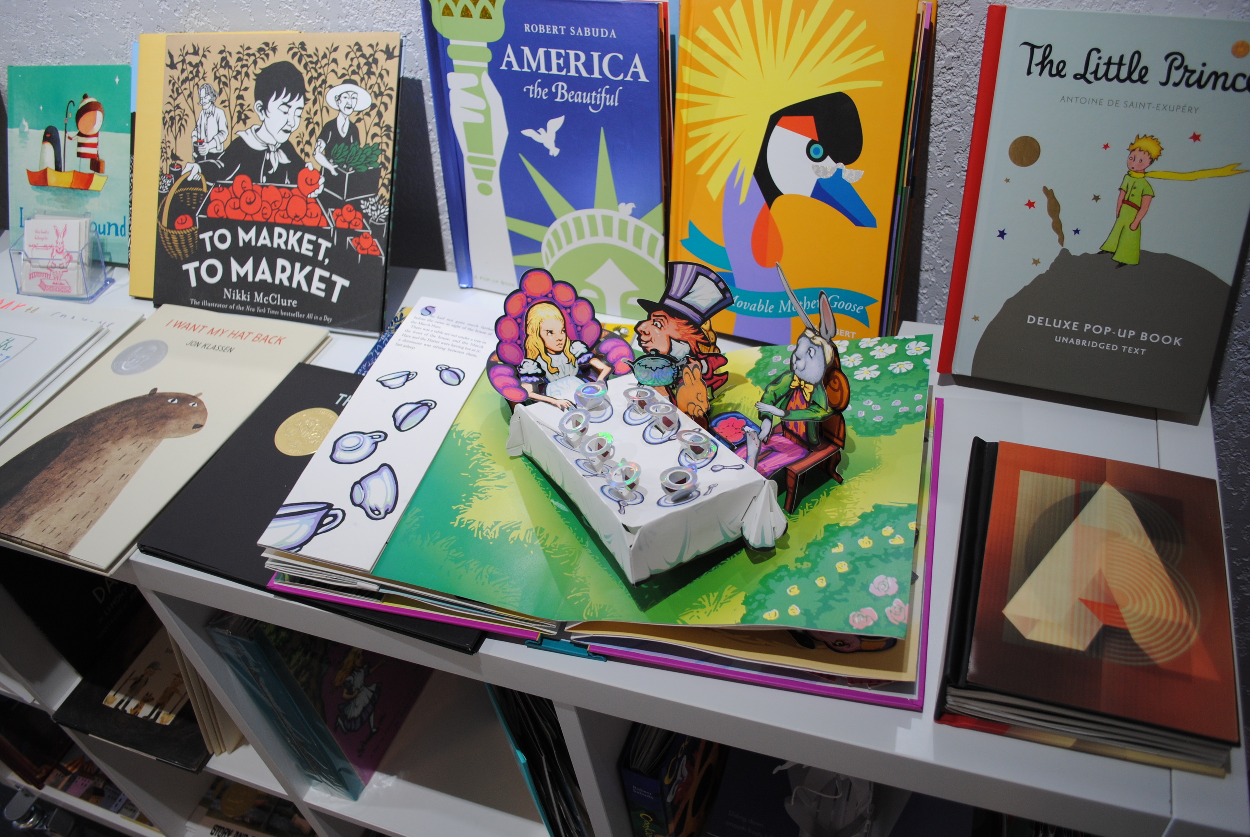 Pop Up Books at The Prints and the Paper in Edmonton on 124 street