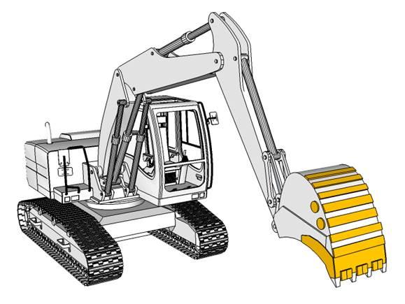 Excavators  New/Rebuild Buckets Cutting Edges Skins Side Cutters Wear Strips