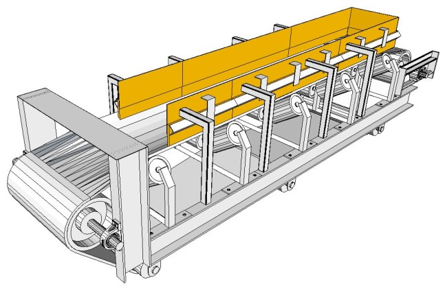 Conveyors  Conveyor Paddles Sprocket Wheels Bolt-On/Bolted Lining Plates