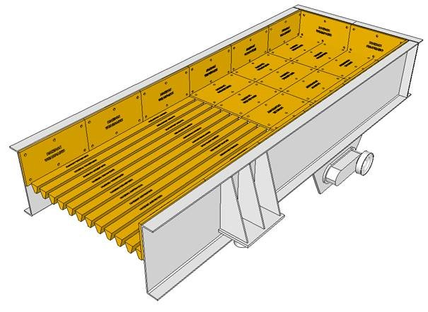 Feeders  Bolted Lining Plates Bolt-On Lining Plates Grizzly Bars Screens