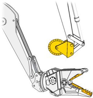 Demolition  Cutter Wheels Knives Pulverizer Teeth