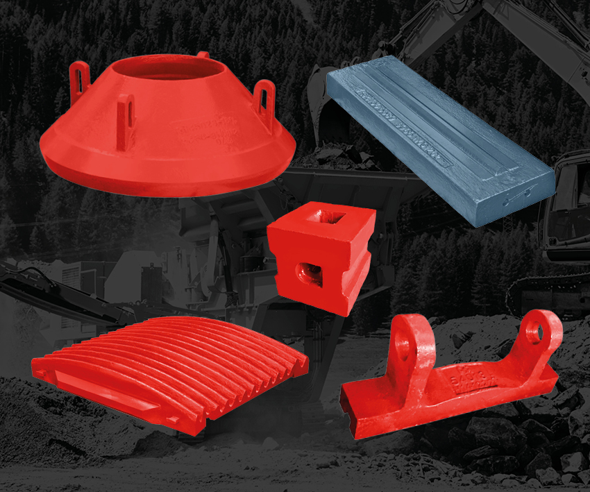 Crusher Parts - Cones, Jaws, Impactors