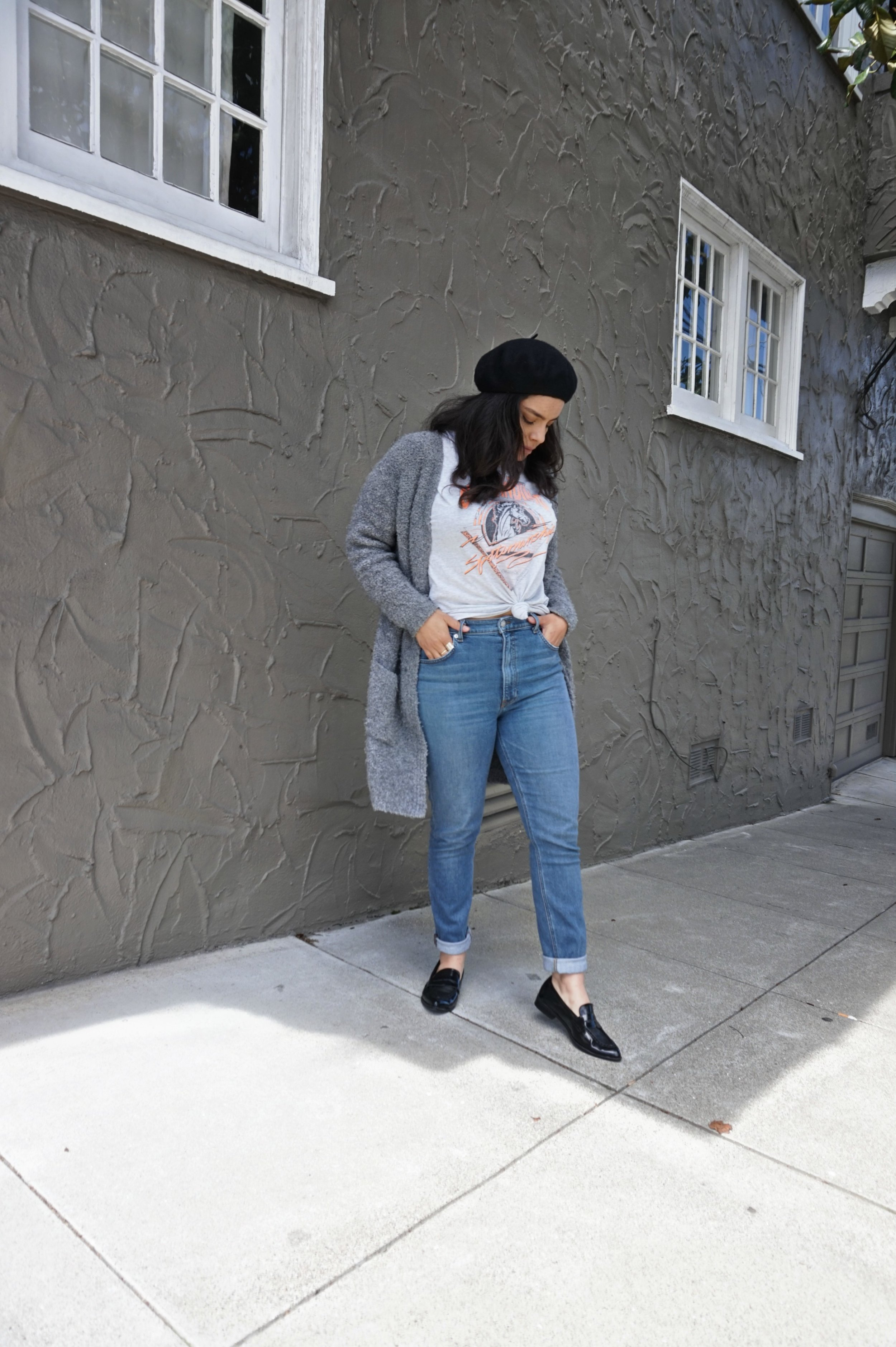 casual thrifted outfits
