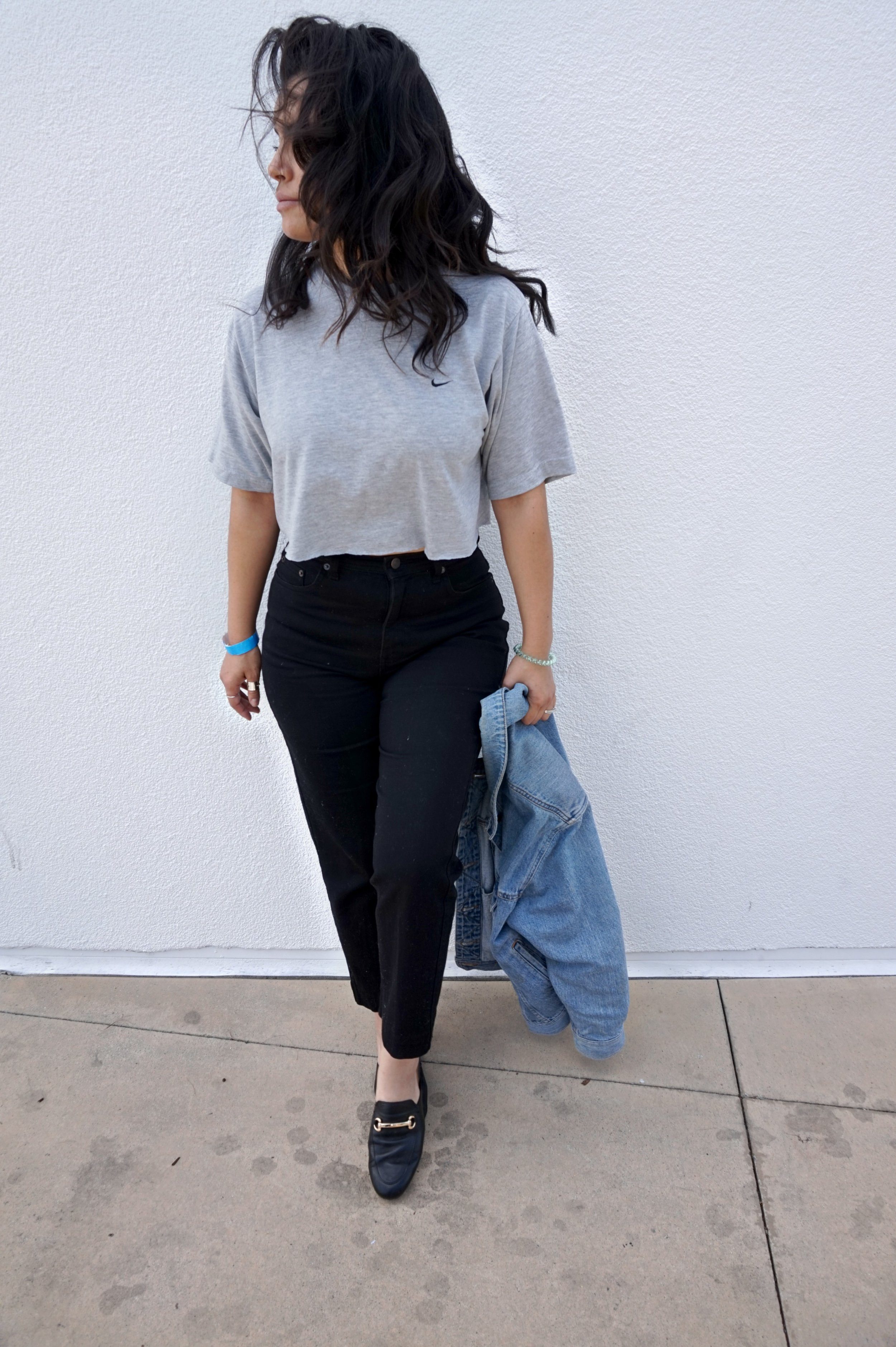 restyle thrifted clothing