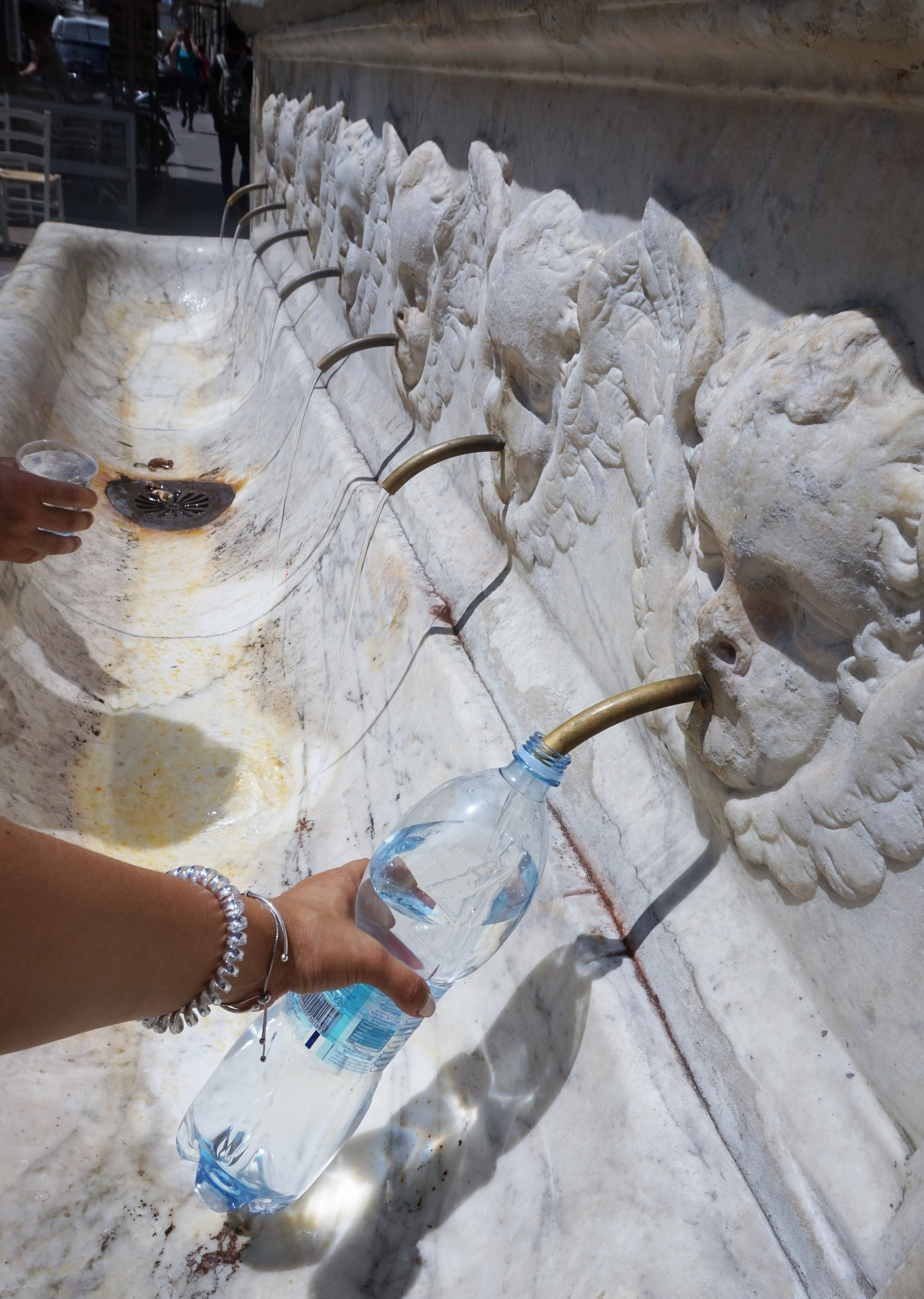 water fountains in italy