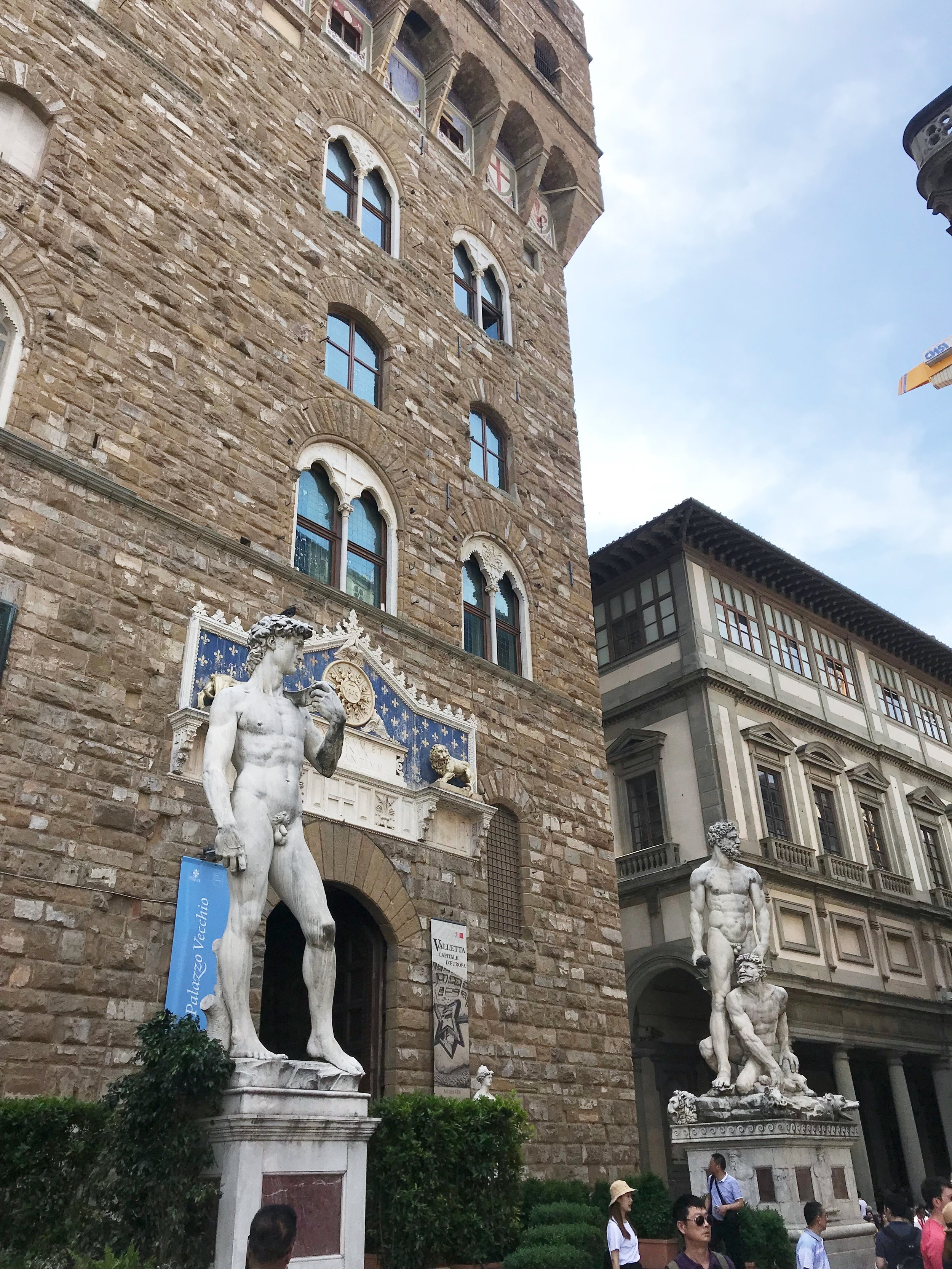 Statue of David Palazzio Vecchio