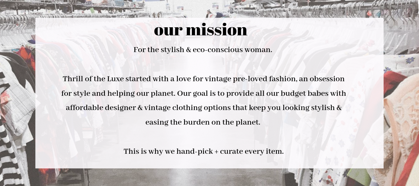curated online thrift store