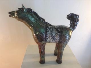 Ceramic Horse 2 Carlos de la Rivera.jpeg