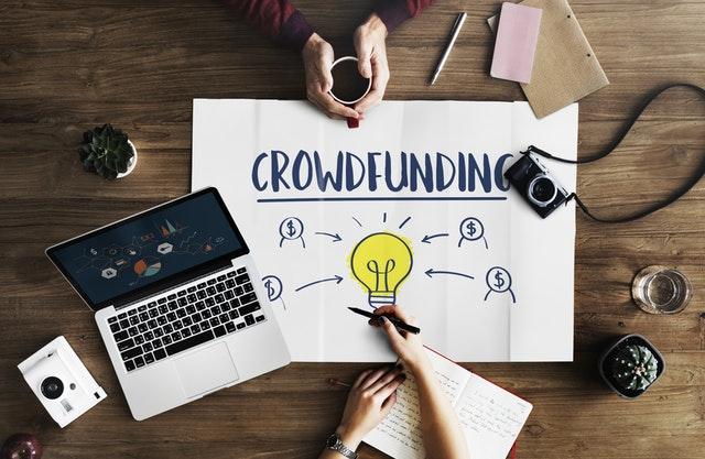 Crowdfunding flowchart