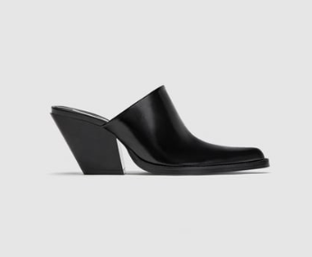 BLOCK HEEL CLOGS - ZARA
