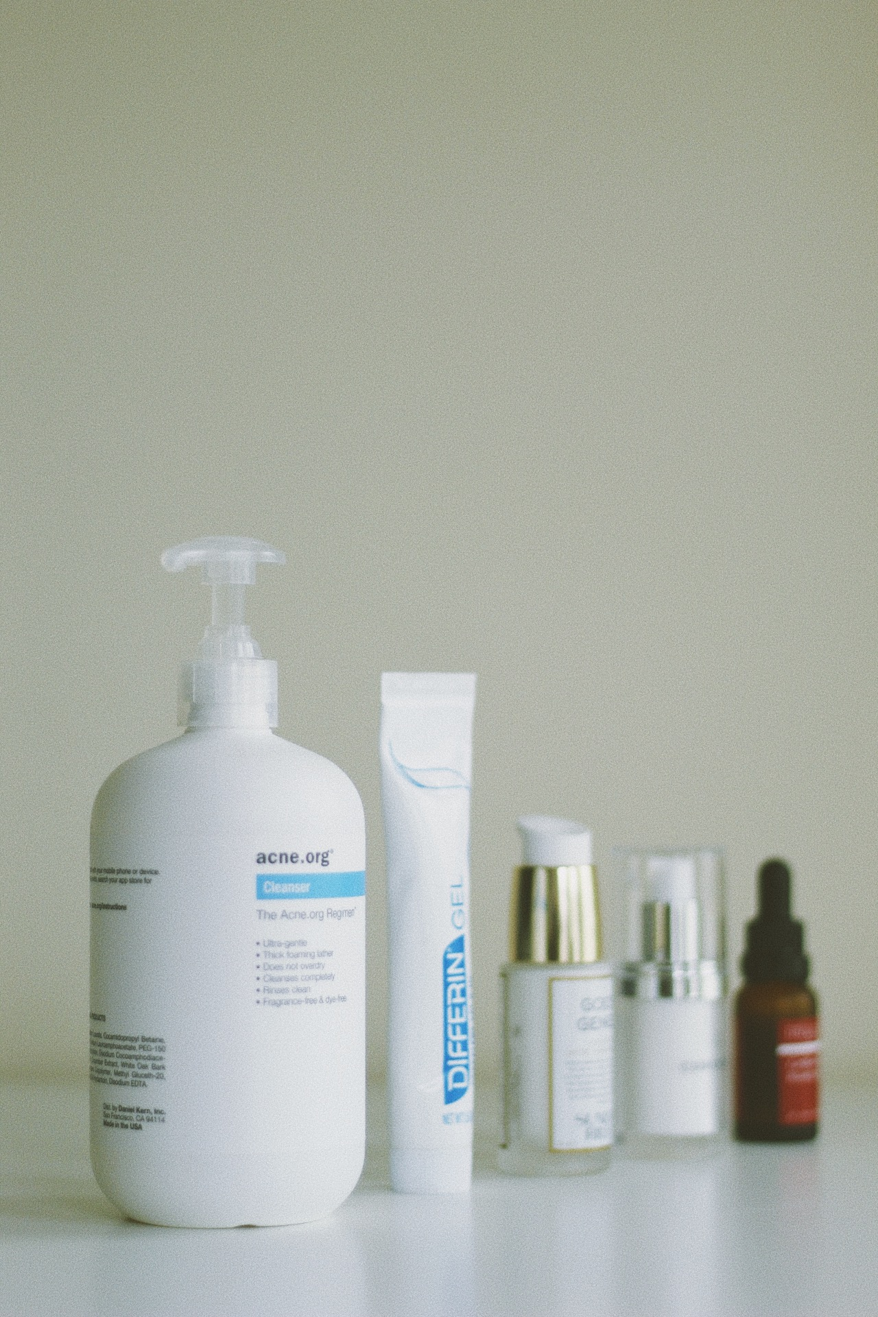 dreaspeaks acne Sunday Riley differin gel curology