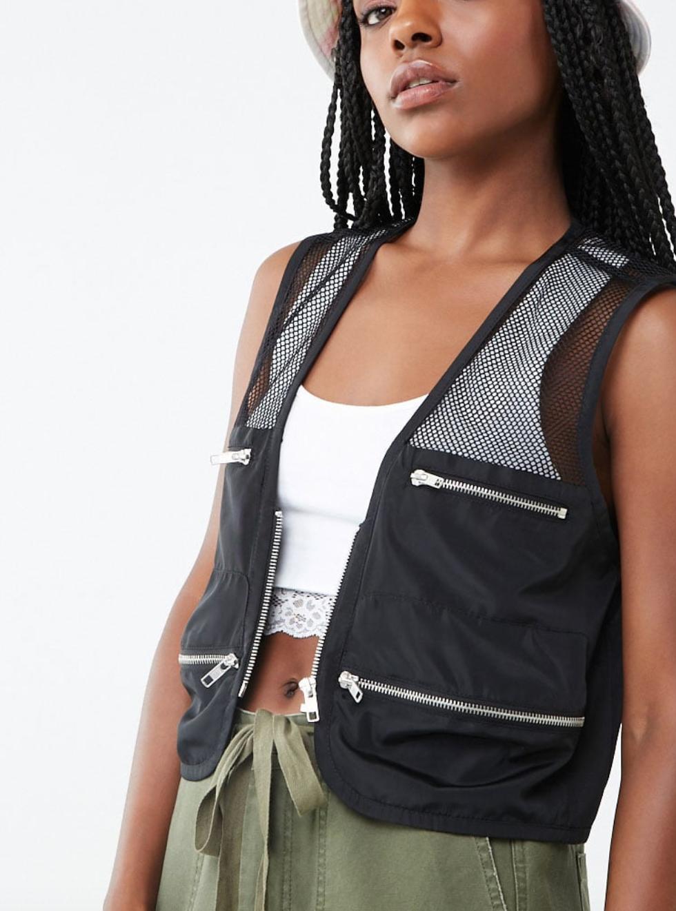 forever21 women's utility vest