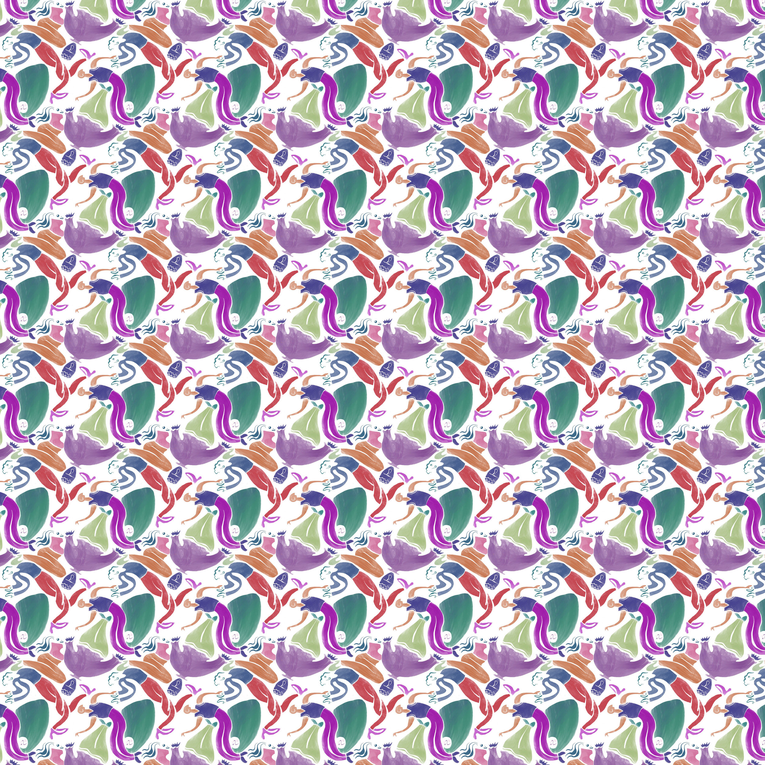 Flim Flam People Pattern_society6.jpg