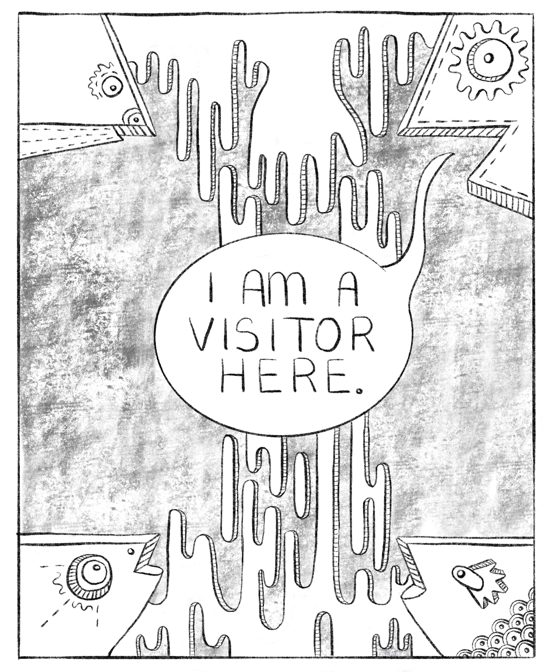 """I am a Visitor"" (2019)"