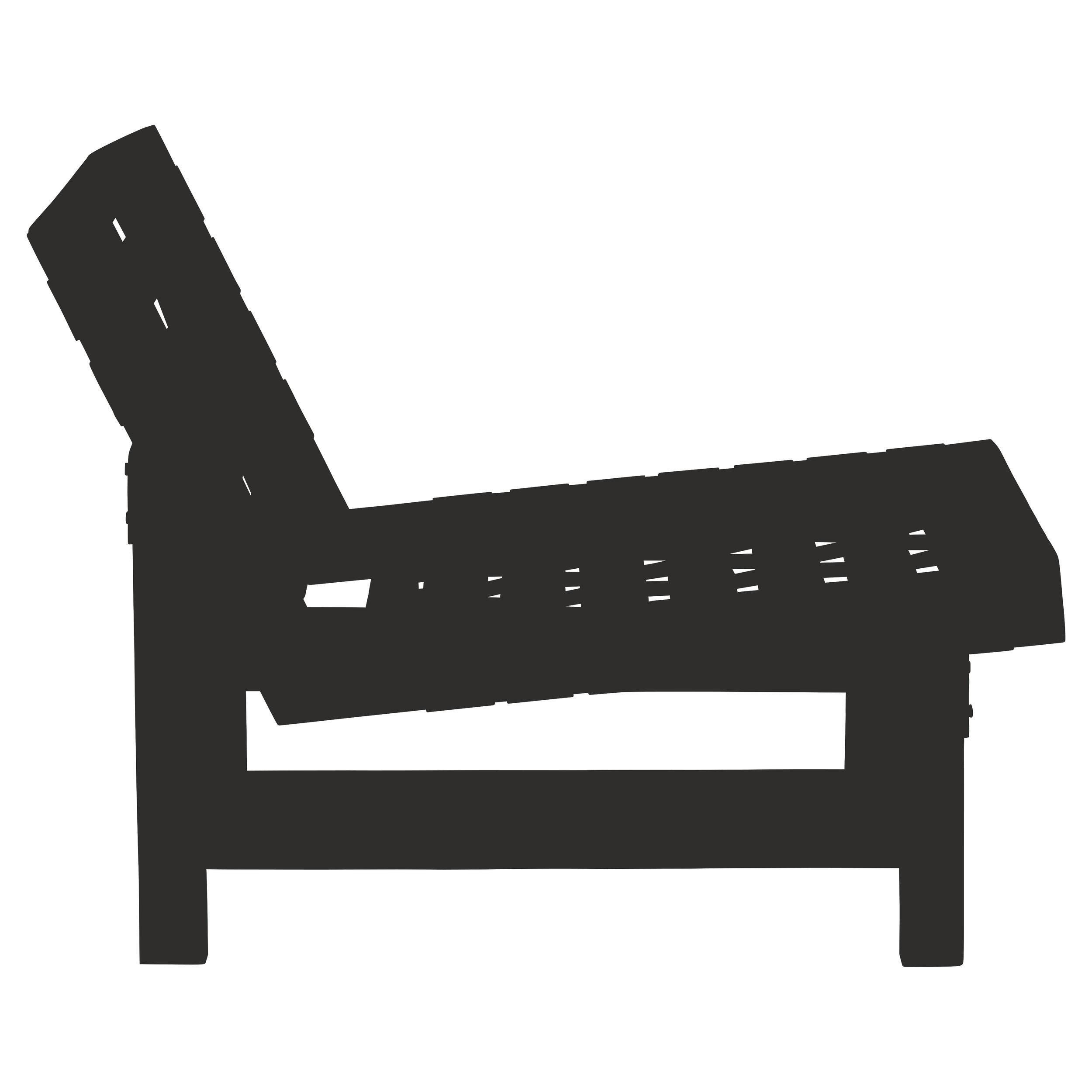 Web'ed Lounge Chair