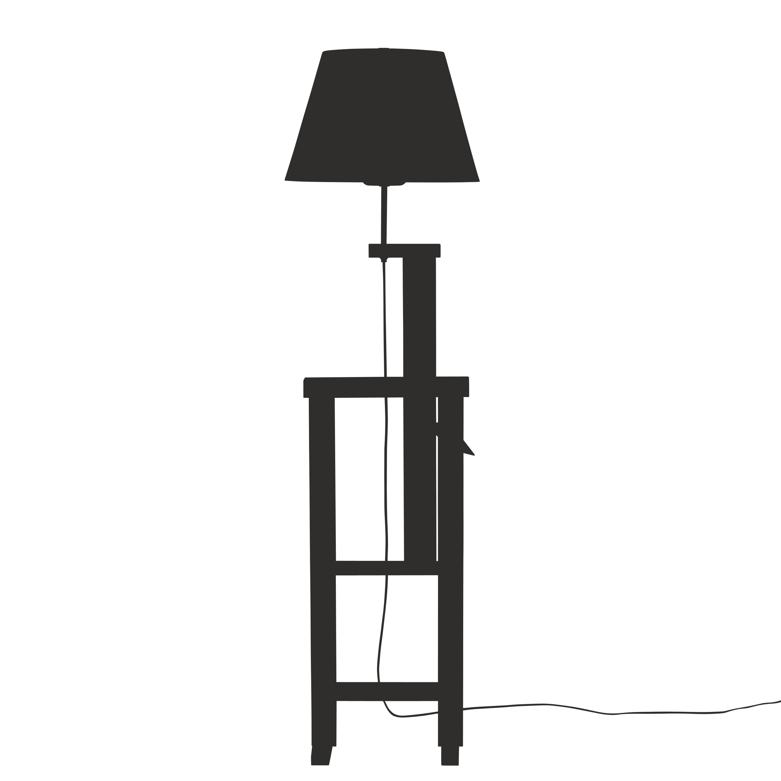 Pawl Adjustable Floor Lamp