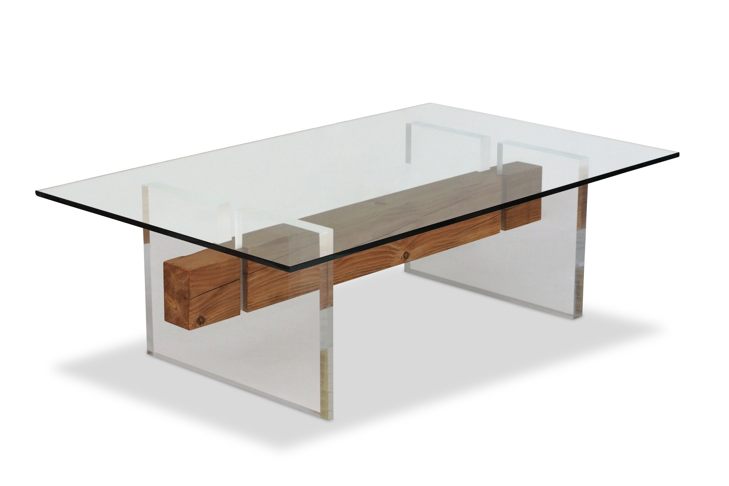 Floating Beam Coffee Table