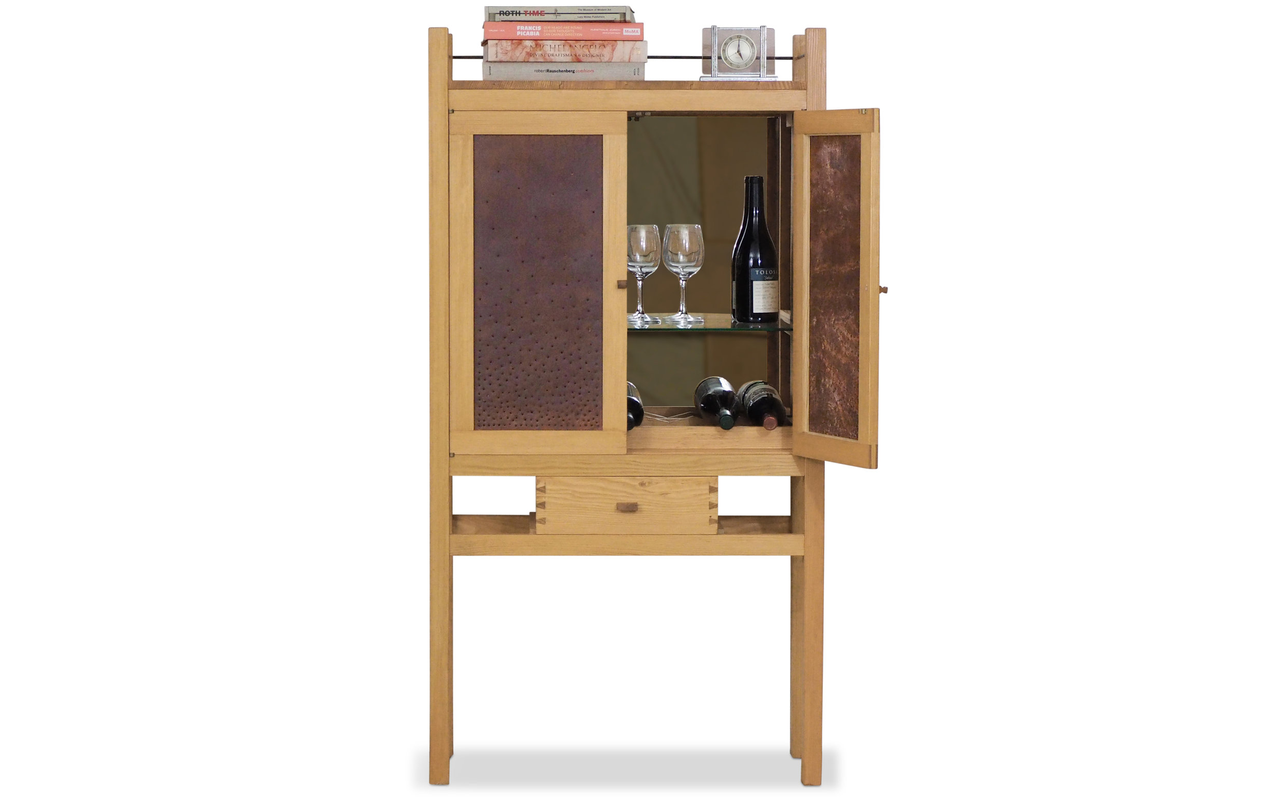 Punchwork Cabinet