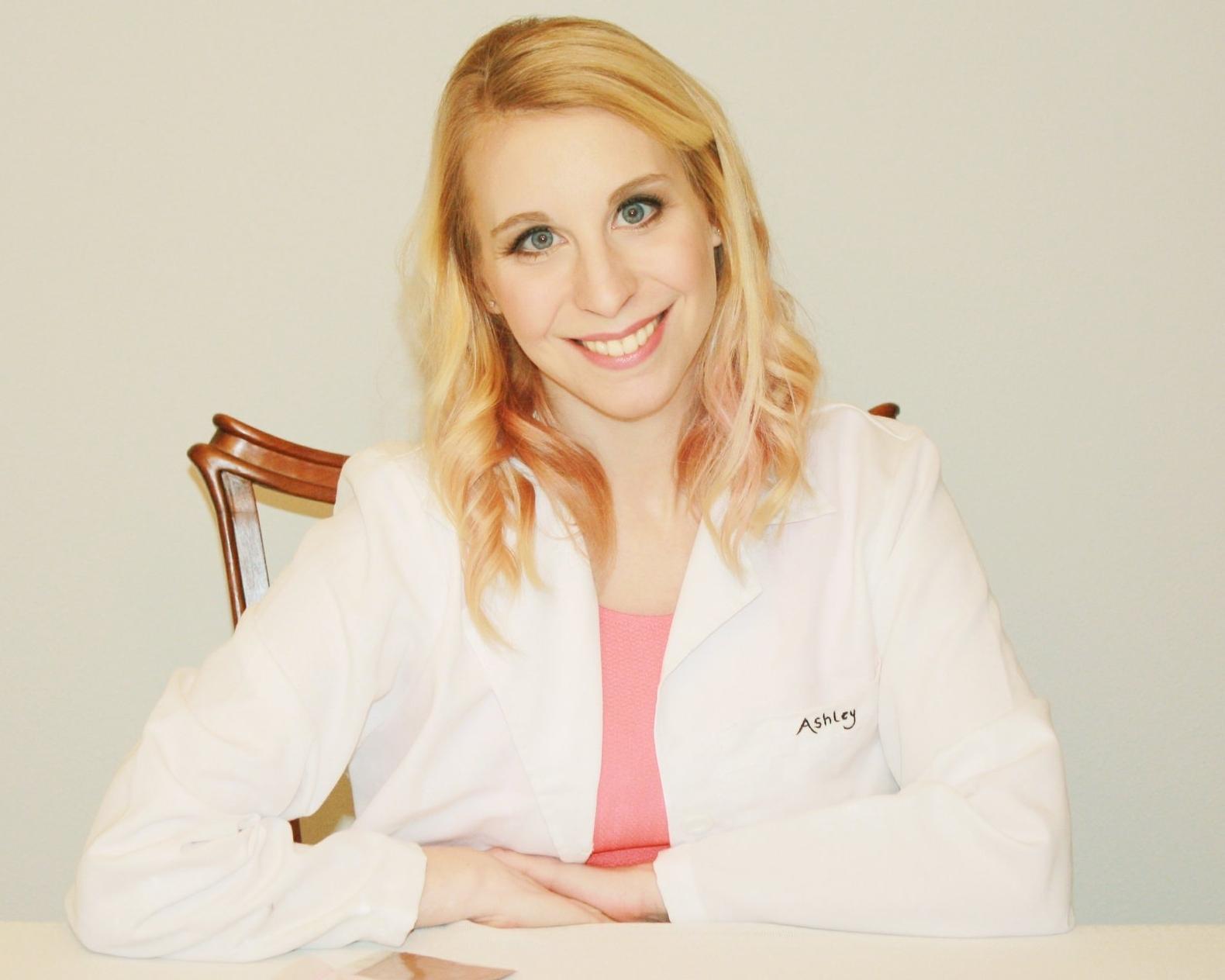 Ashley Pinch Cosmetic Chemist & Founder of Garnish Cosmetics