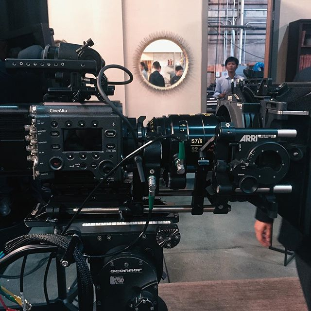 Got to see the new Sony Venice camera. I'm happy to that they listened to users feedback. Definitely can't wait to use one on set. . .  #directorofphotography #cinematography #cinematographer #setlife #onset #assitantcamera  #cameradept #cameradepartment #1stac  #alexa #arrialexa #alexamini #anamorphic  #dop #dp  #shotonalexa #arri  #prestonfiz #commercials #focuspuller #sonyf65 #f65 #fujinon #fujinoncabrio #oconnor2575 #betterdeadthanred #sonyvenice #cookeoptics #cookes7i