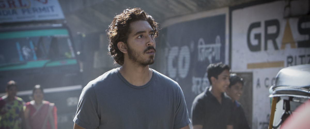 Dev Patel, shown here Acting
