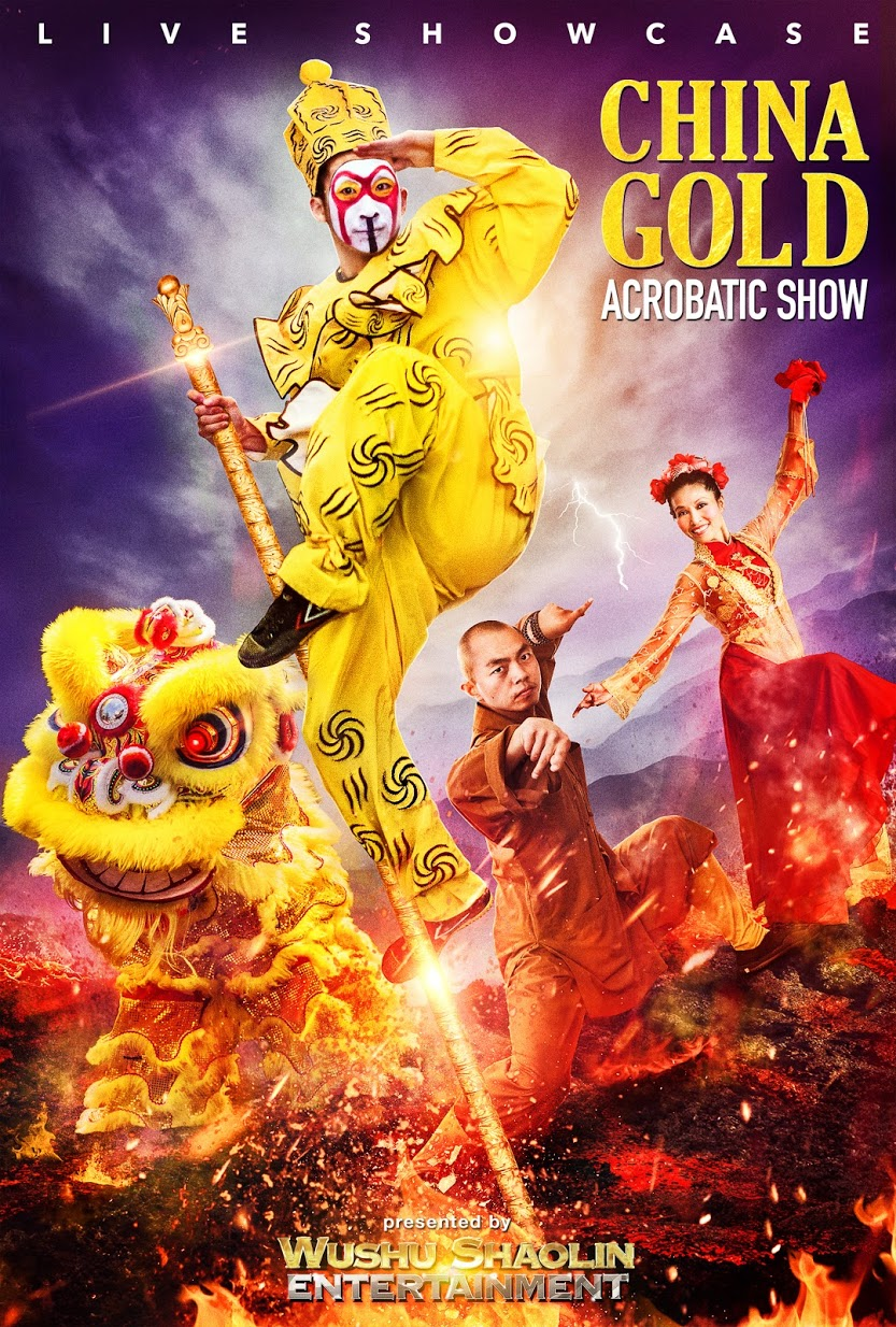Book with Wushu Shaolin Entertainment Today!!! - China Gold