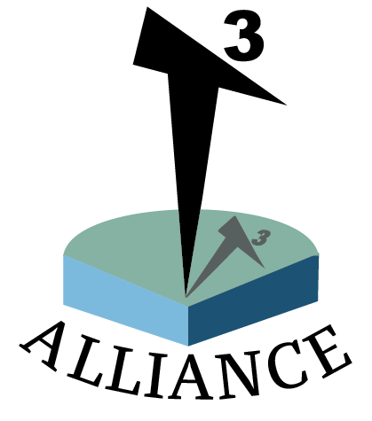 "Logo design for the ""T3"" Teaching through Technology Alliance"