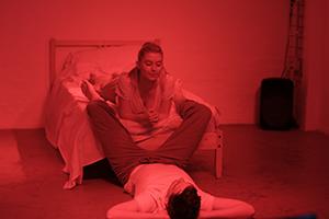 RED CROSS by Sam Shepard Arrive. Devise. Repeat. for Sydney Fringe Festival 2016 📷 Johnny Nolan