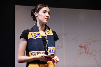 Victoria/Self A WESTERNE'R'S GUIDE TO THE OPIUM WARS Thirty Five Square & bAKEHOUSE Theatre (Sydney)/The Blue Room Theatre (Perth) 2019 📷Clare Hawley